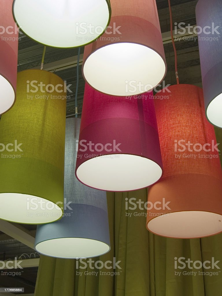 Multicolor shades royalty-free stock photo