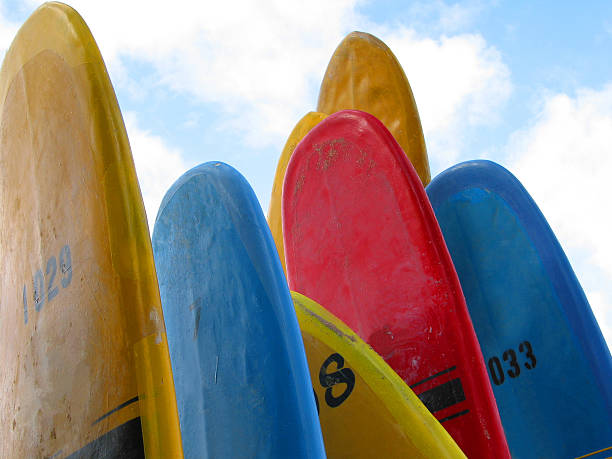 Multi-Color Surfboards, Hawaii