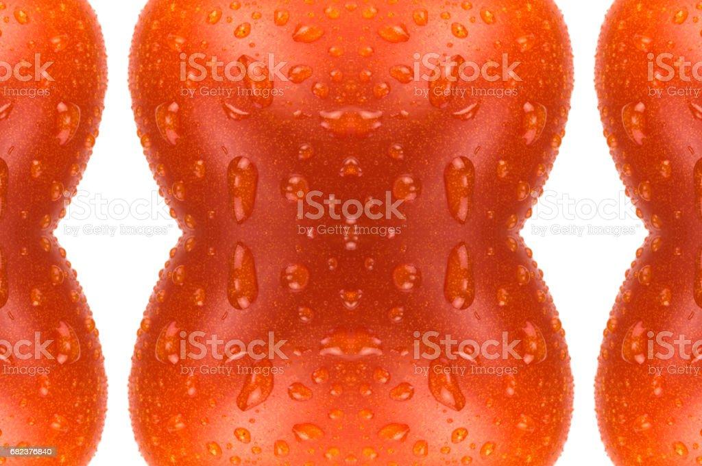 Multicolor tomato ornament royalty-free stock photo
