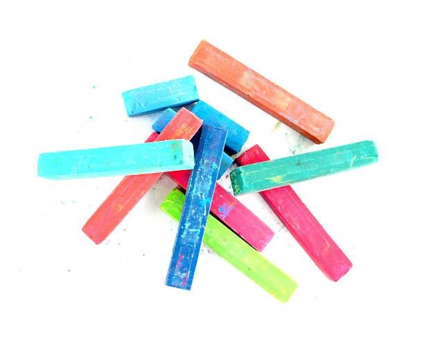 Artiste multicolore de pastels (Tennis) - Photo
