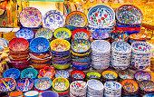 Multicolored authentic lamps Grand Bazaar in Istanbul