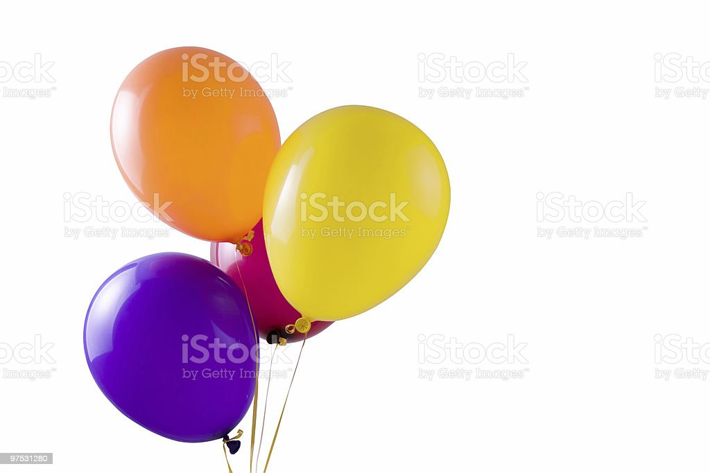 multicolored ballons royalty-free stock photo