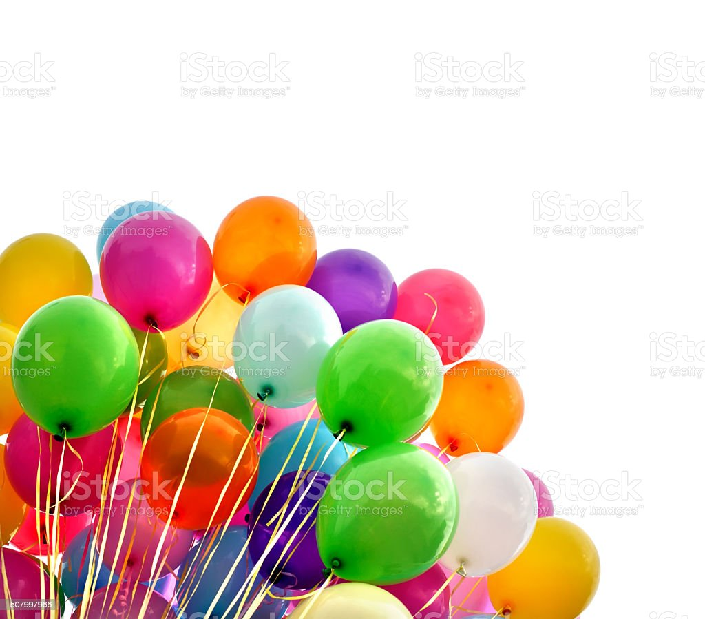 multicolored balloons圖像檔