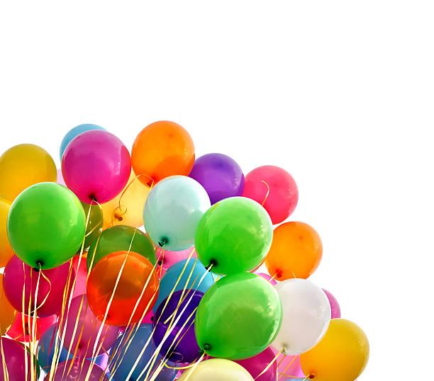 Ballons multicolores - Photo