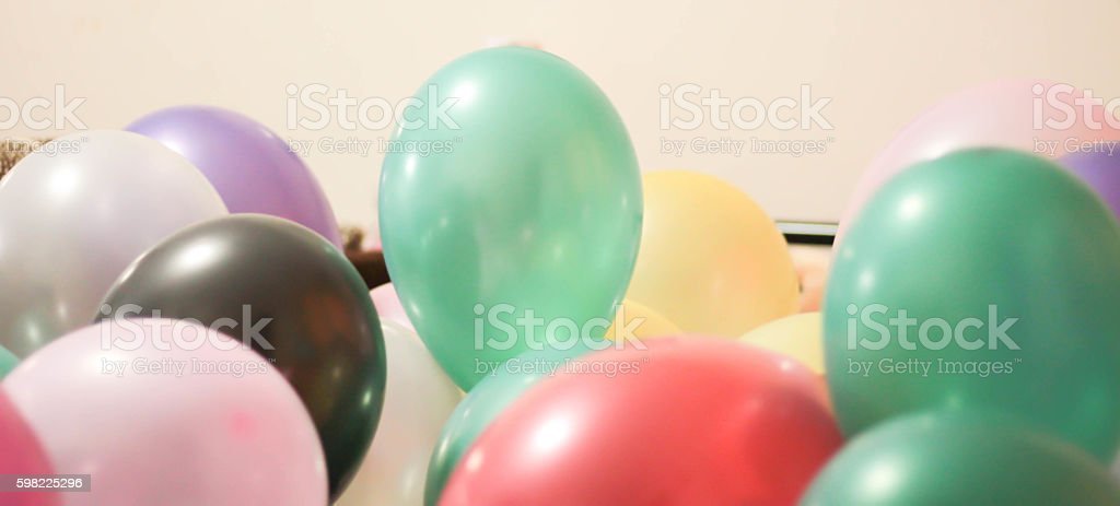 Balões multicolorida  foto royalty-free