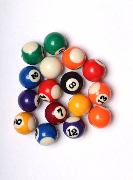 Multi-colored balls for snooker – zdjęcie