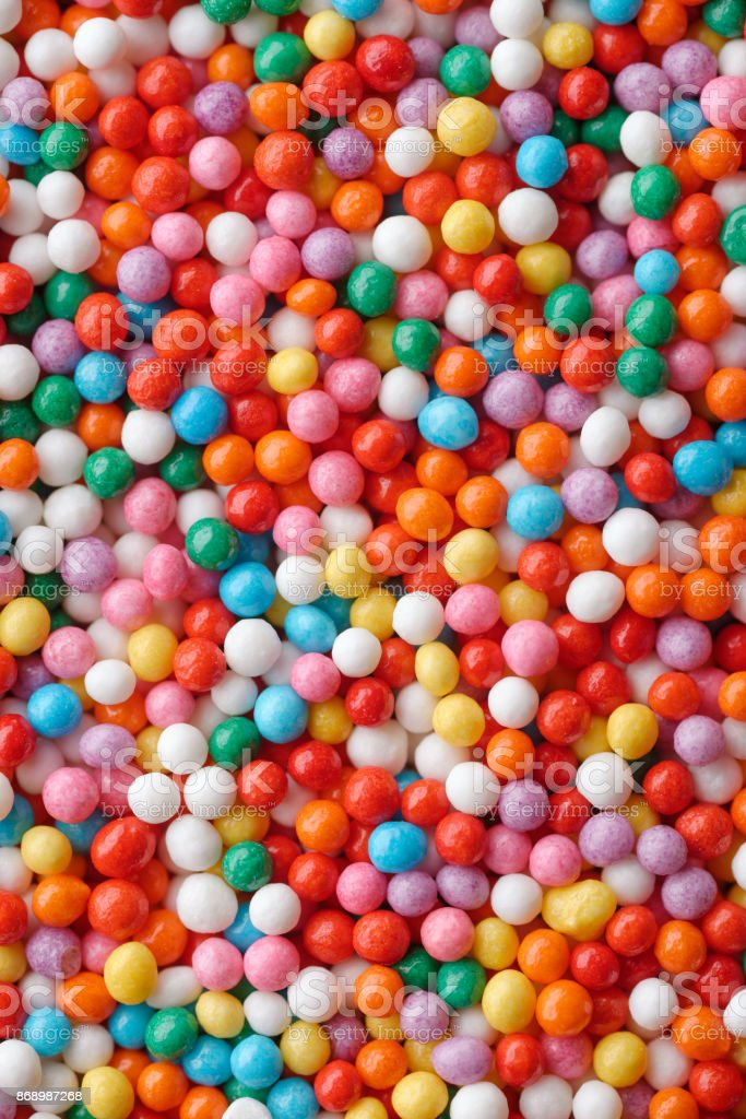 Multicolored candy drops royalty-free stock photo