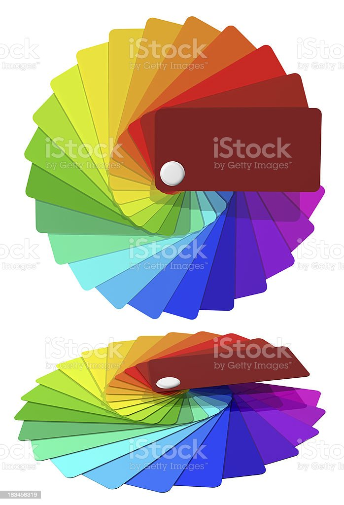 Multicolored Cards By A Fan Rainbow Stock Photo Download Image Now Istock