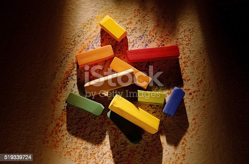 623300522 istock photo Multi-colored crayons 519339724