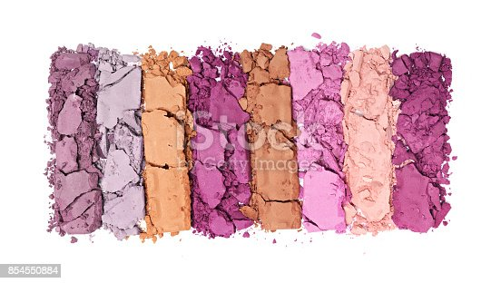 istock Multicolored crushed eyeshadows 854550884