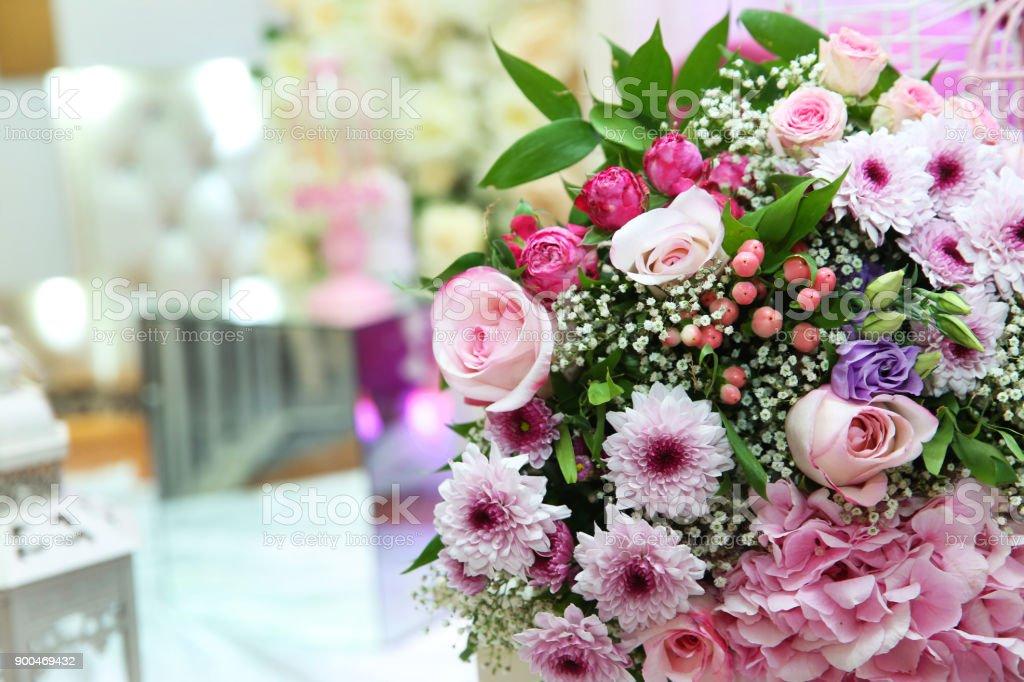 Multicolored Flower Bouquet Multicolored Engagement Flower Bouquet ...