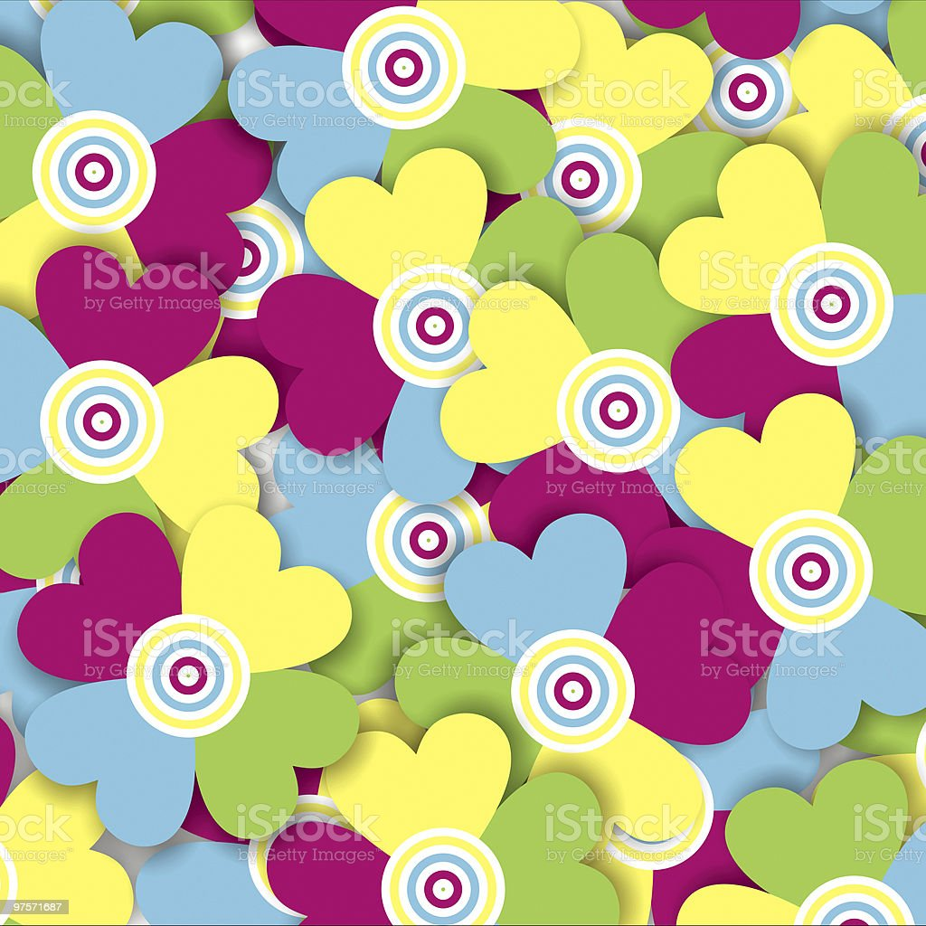 Multicolored flowers royalty-free stock photo