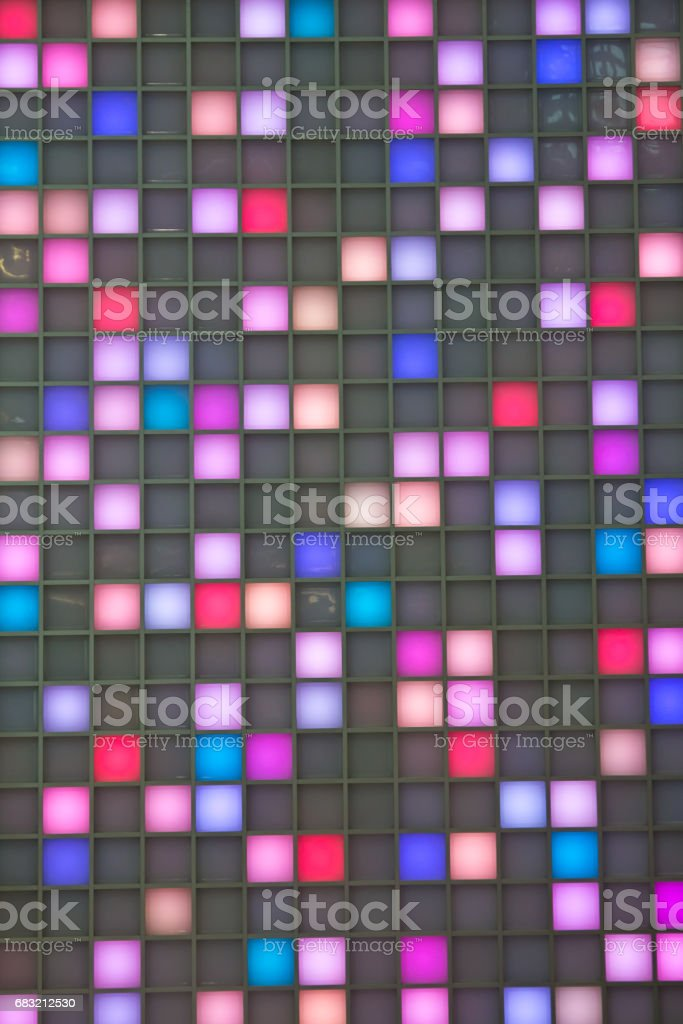 Multi-colored lights royalty-free 스톡 사진