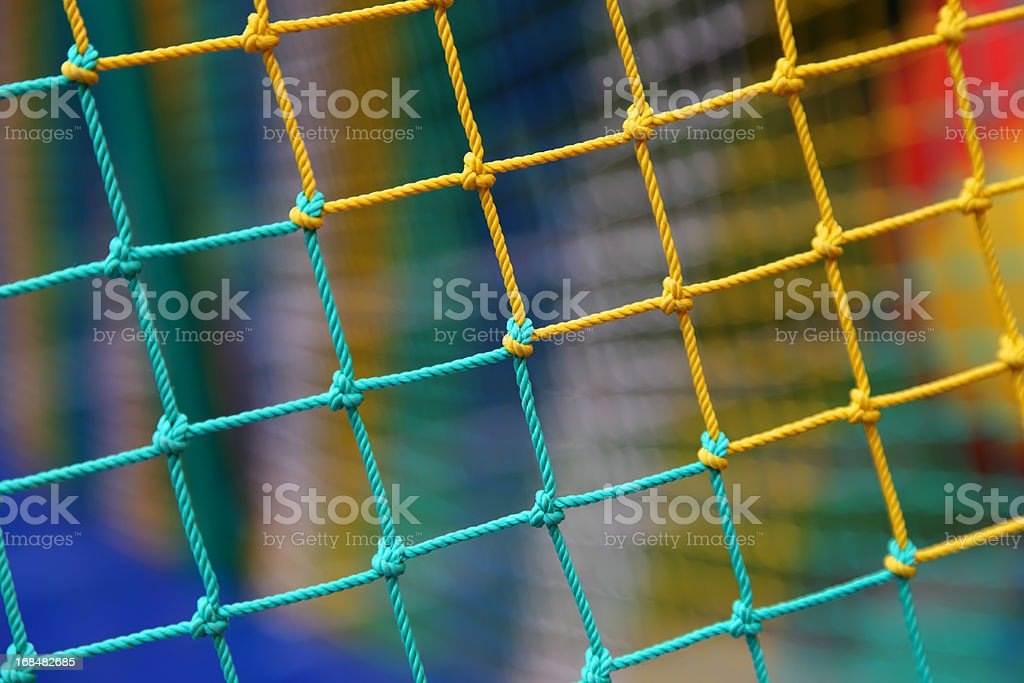 Multi-colored mesh. royalty-free stock photo
