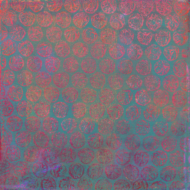 Multi-colored mixed media texture with slight dotted pattern stock photo