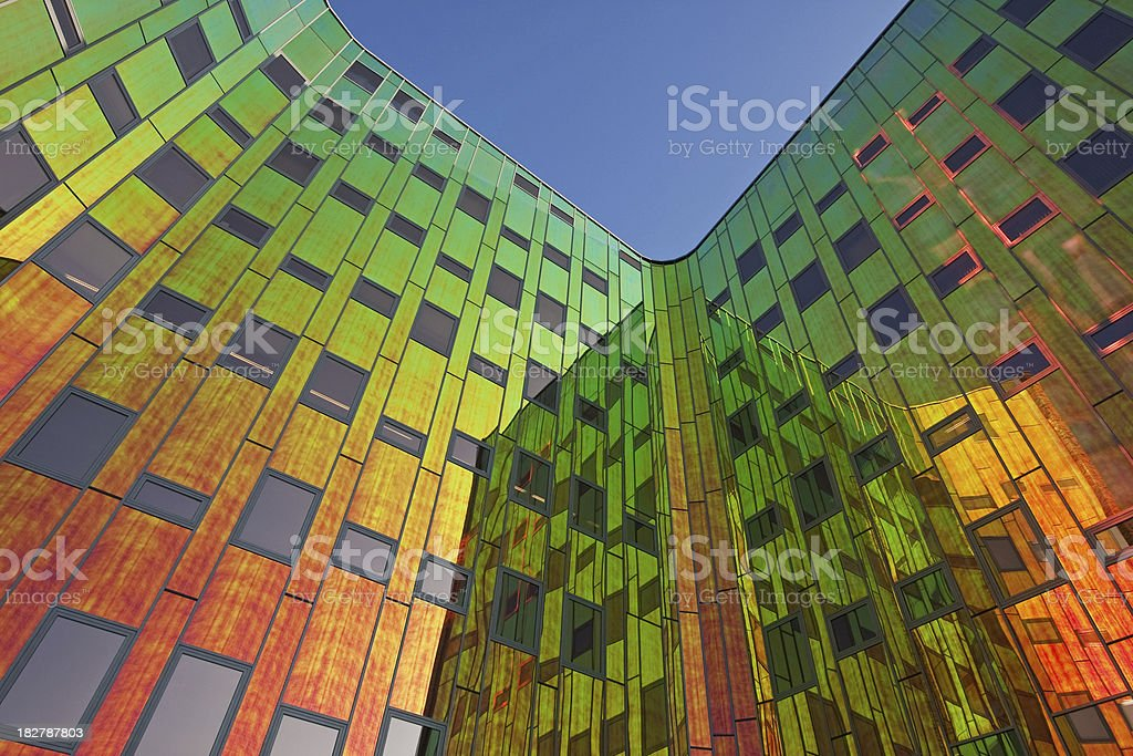 Multicolored office building # 12 royalty-free stock photo