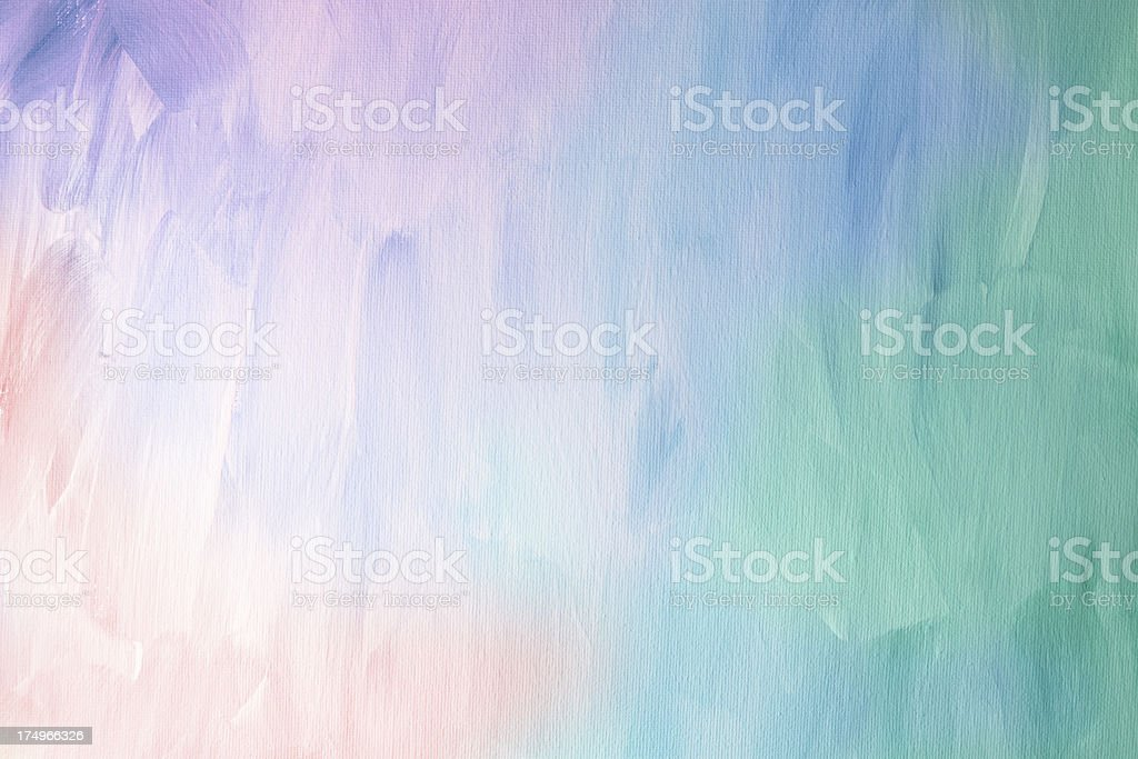 Multi-colored painted background stock photo