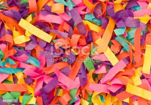 istock Multicolored paper 94295132