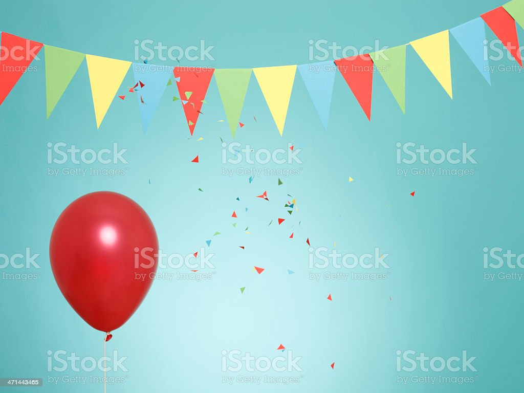 Multicolored party background stock photo