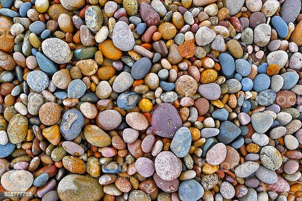 Photo of Multi-Colored Pebbles and Rocks
