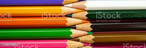 Multicolored pencils in a set lie against each other picture id1172771571?b=1&k=6&m=1172771571&s=612x612&h=r95 al 5tohesfvshqwaeiwkvq8inew3rmwe tpchzc=