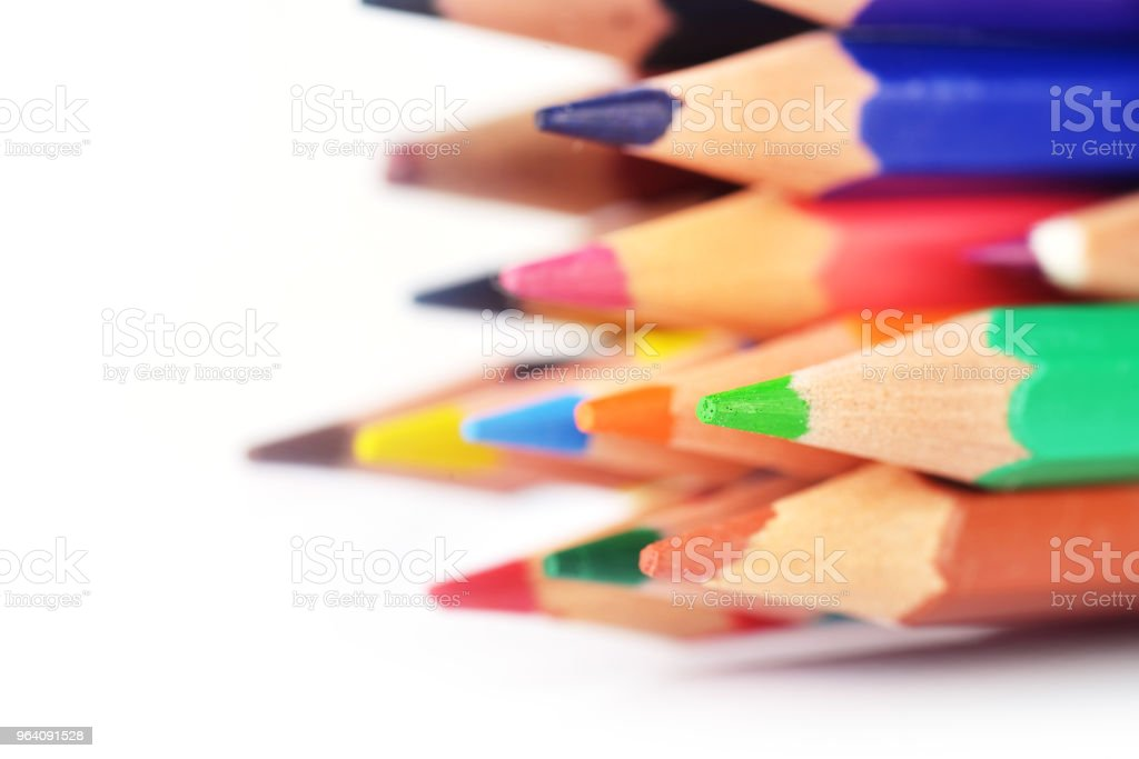 multicolored pencils - Royalty-free Art Stock Photo