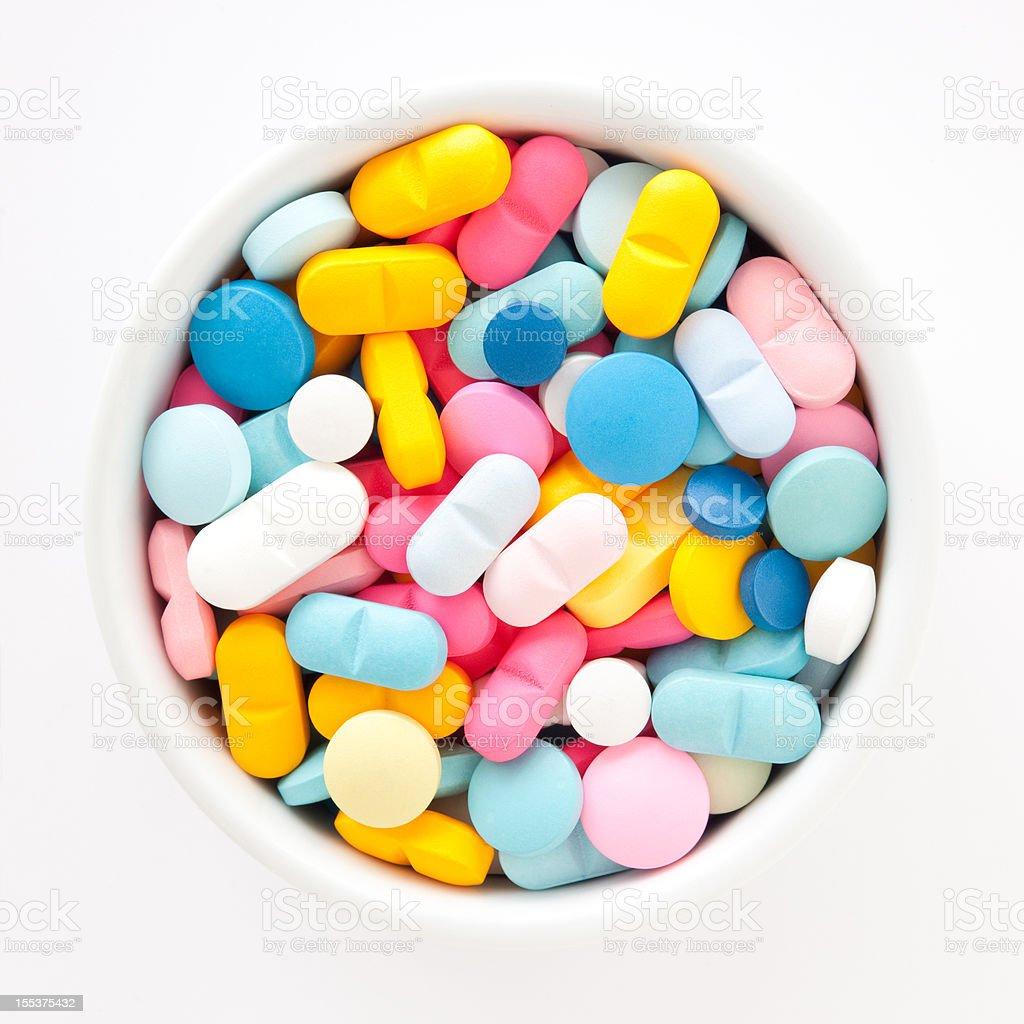 Multicolored pastillas - foto de stock