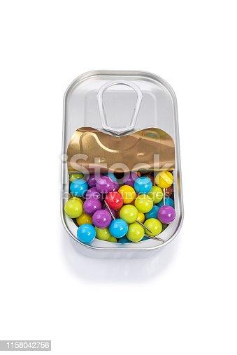 186827106istockphoto Multicolored pins 1158042756