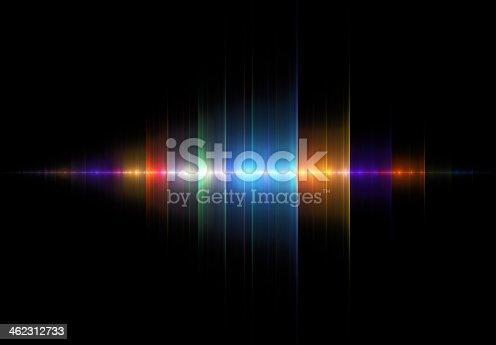 istock Multicolored Sound Wave 462312733