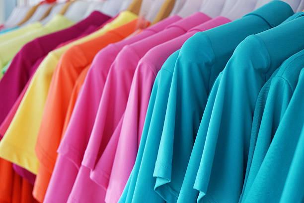 multicolored summer fashion – Foto