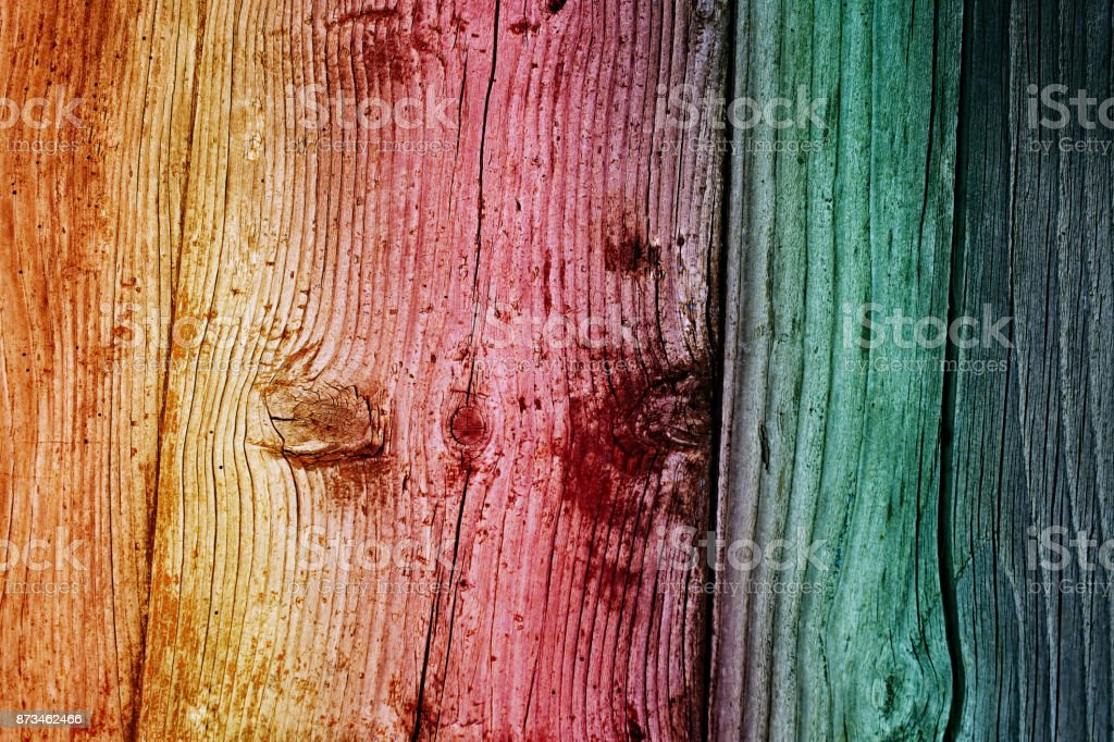 multicolored wood texture. mottled wooden background. abstract grunge wood texture. multicolored boards background. stock photo