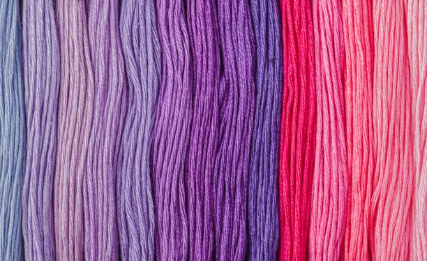 Bunte Wolle - abstrakte Mode Hintergrund – Foto