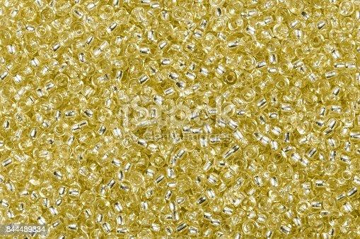istock Multicolored yellow seer beads 844489334