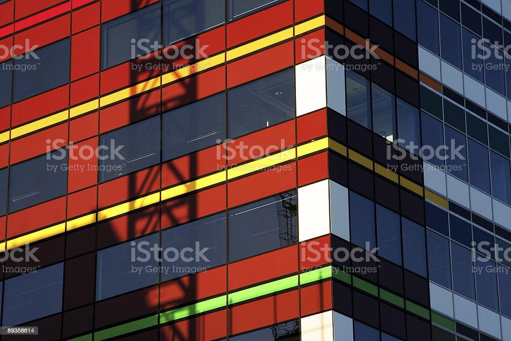 Edificio d'informazione foto stock royalty-free