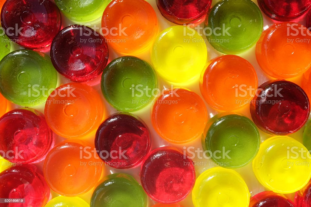 Multi-coloured hardy candy background stock photo
