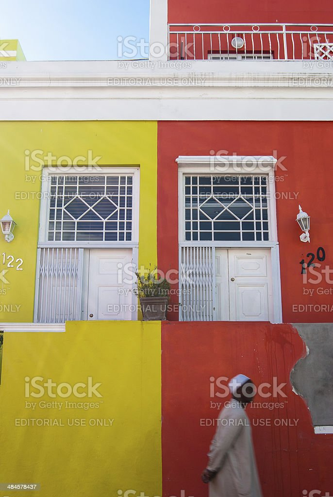 Multicultural Bo-Kaap stock photo