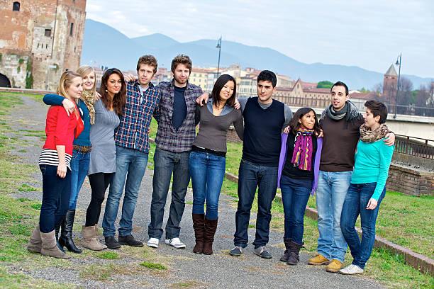 Multikulturelle Gruppe von Personen – Foto