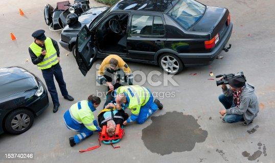 istock Multidisciplinary rescue team 153740246