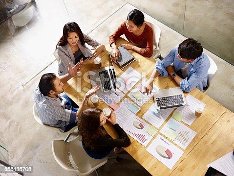 istock multiethnic business team meeting in office 855485708
