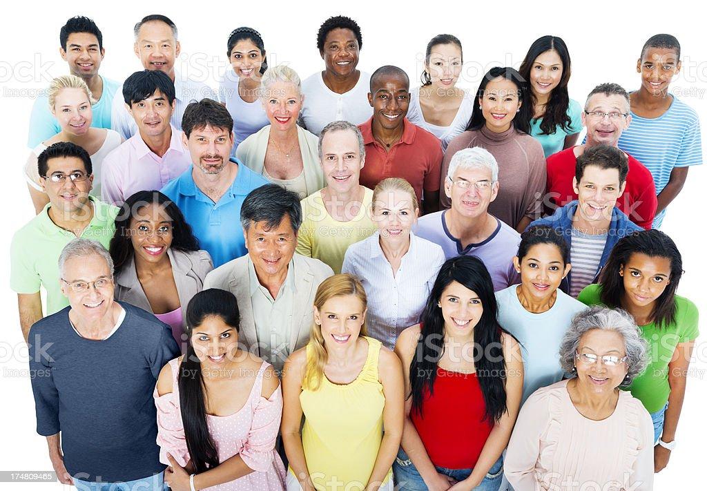Multi-ethnischen legere Personen – Foto