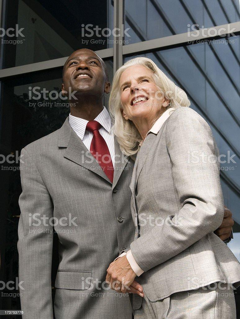 Multi-Ethnic Couple stock photo