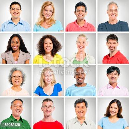 istock multi-ethnic face 167082129