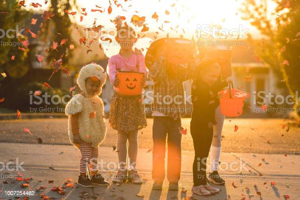 Multiethnic group of kids trick or treating picture id1007254462?b=1&k=6&m=1007254462&s=612x612&h=wqa1frevrsgxhf3mlrvm07i0uc84pvynh0tmridpkq0=