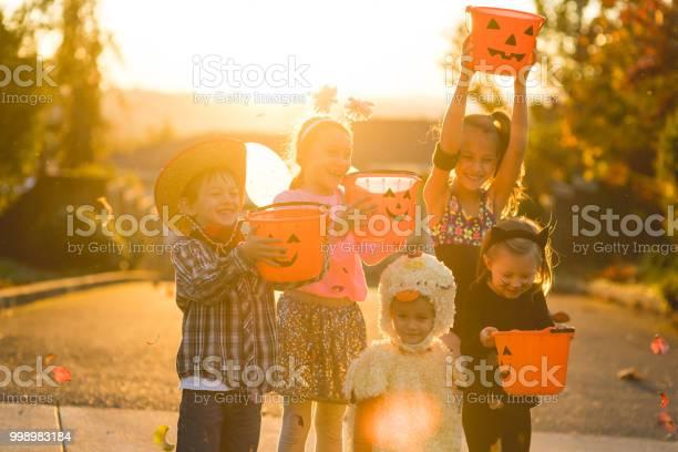 Multiethnic group of kids trick or treating picture id998983184?b=1&k=6&m=998983184&s=612x612&h=f8tiqldyjqsok8bo0ywxowhcpgbtvpla yx1uy8swrg=