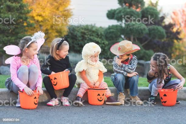 Multiethnic group of kids trick or treating picture id998983194?b=1&k=6&m=998983194&s=612x612&h=p bhyxvq4stcgj26 qollvgbagztj1y0ndeayvznsz8=