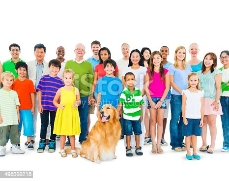 671270528 istock photo Multiethnic Group of Mixed Age People Together as One Family 498366215
