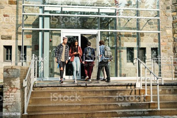 Multiethnic group of students in front of college university entrance picture id1065166766?b=1&k=6&m=1065166766&s=612x612&h=o5cx r48a jttbz m0monunoychnxpxd9lvp3zahs3a=