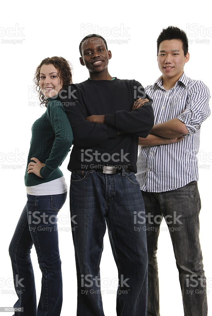 Multi-ethnic Group stock photo