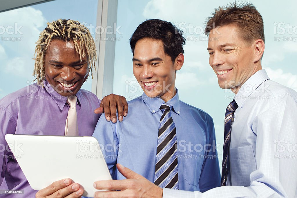 Multi-Ethnic managers royalty-free stock photo