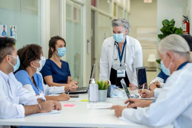 Multi-Ethnic Medical Students stock photo
